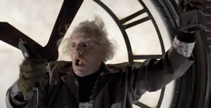 Christopher Lloyd as Dr. Emmett Brown, Back to the Future